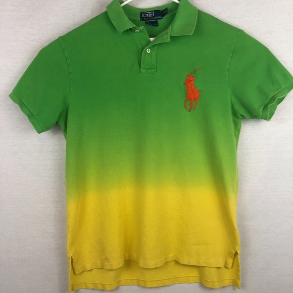 Polo by Ralph Lauren Other - Polo Ralph Lauren BIG PONY *RARE* 2-Tone Polo -L